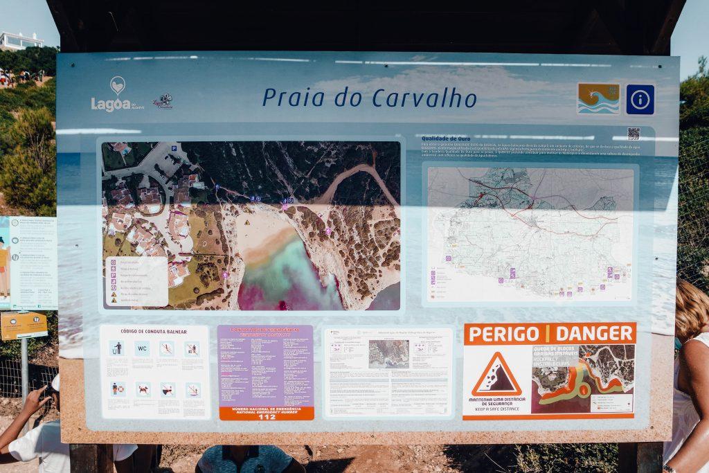 Carvalho Beach, Seven Hanging Valleys Trail, Algarve