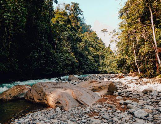 River from the Bukit Lawang Jungle Trek, Sumatra