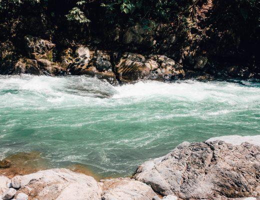 Bukit Lawang River, Sumatra
