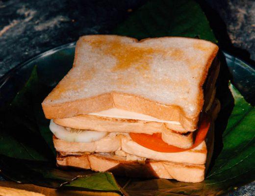 Breakfast in Bukit Lawang, Sumatra