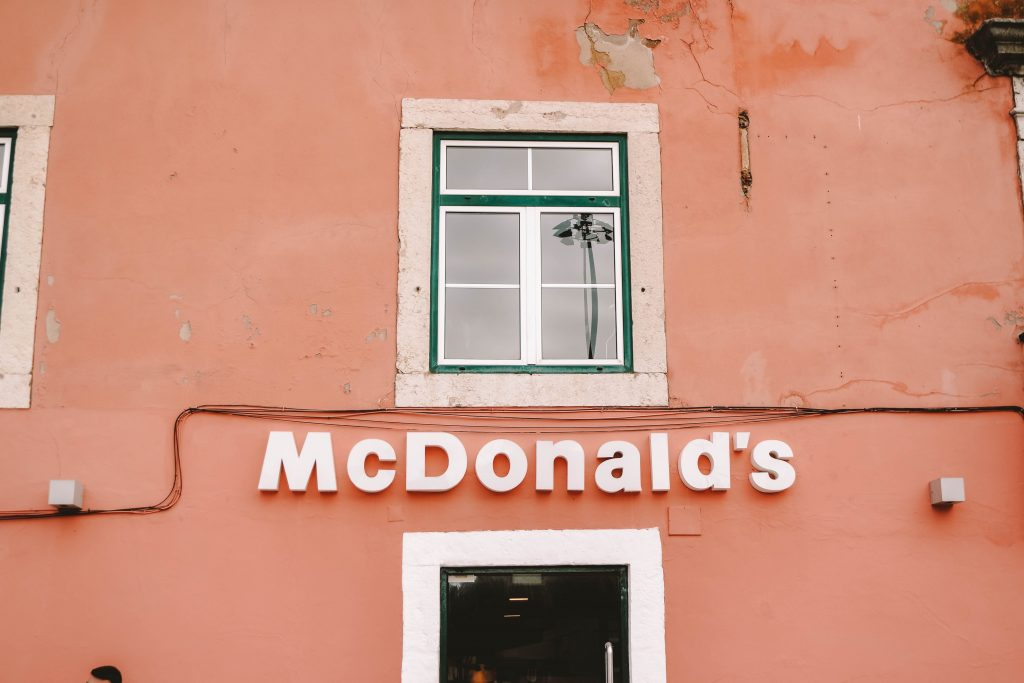 Pink McDonalds, Instagram Photo spot in Lisbon