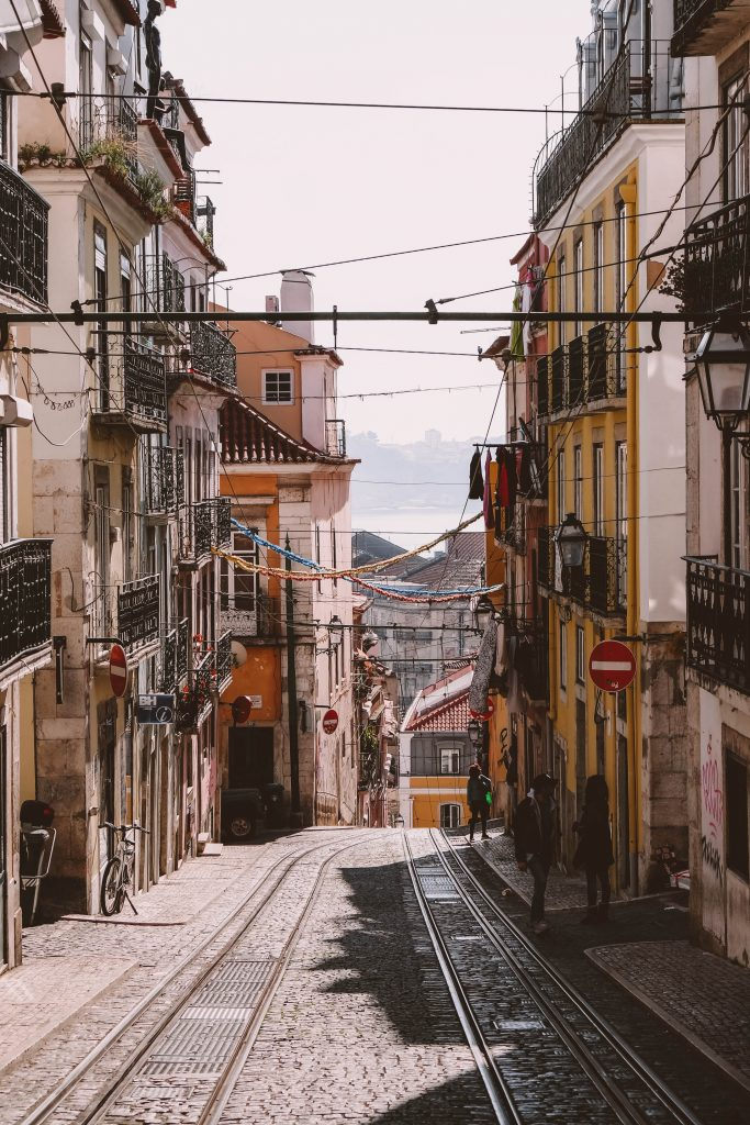 Elevador da Bica, Lisbon Instagram Spots