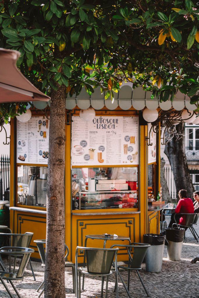 The different kiosks in Lisbon, Instagram photo spots
