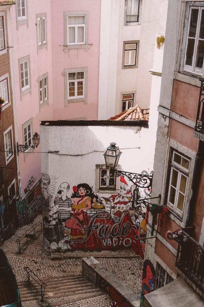 Fado Singer Viewpoint, Lisbon