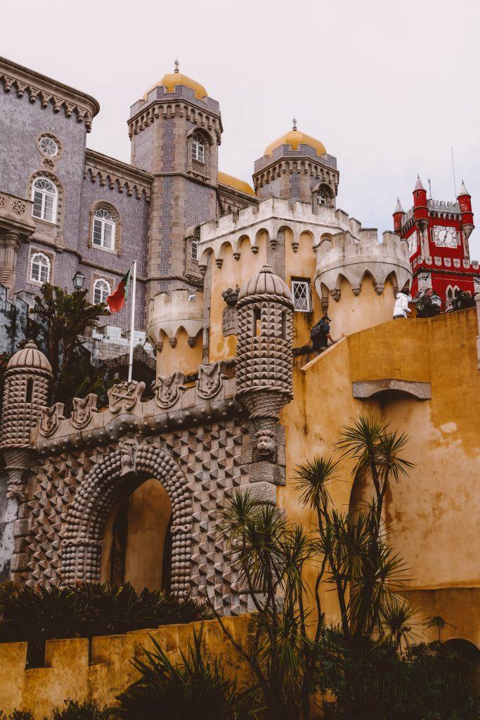 Pena Palace in Sintra, Instagram Hotspots