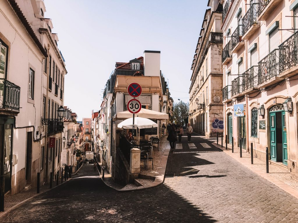Rua do Almada / Rua Mal. Saldanha, Lisbon