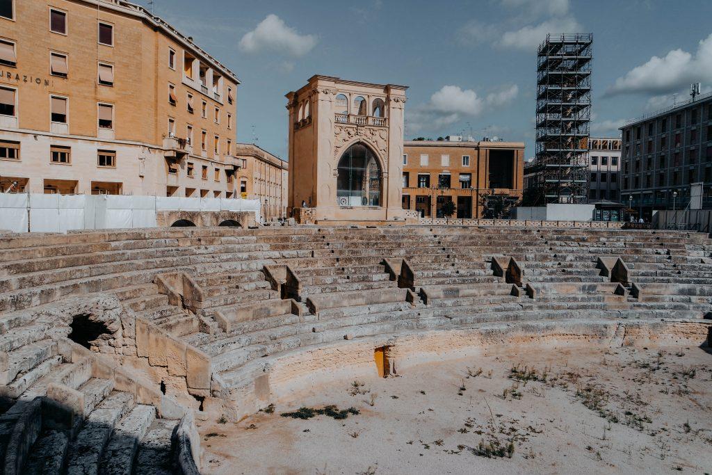 Roman Amphitheater, Lecce, Puglia, Italy