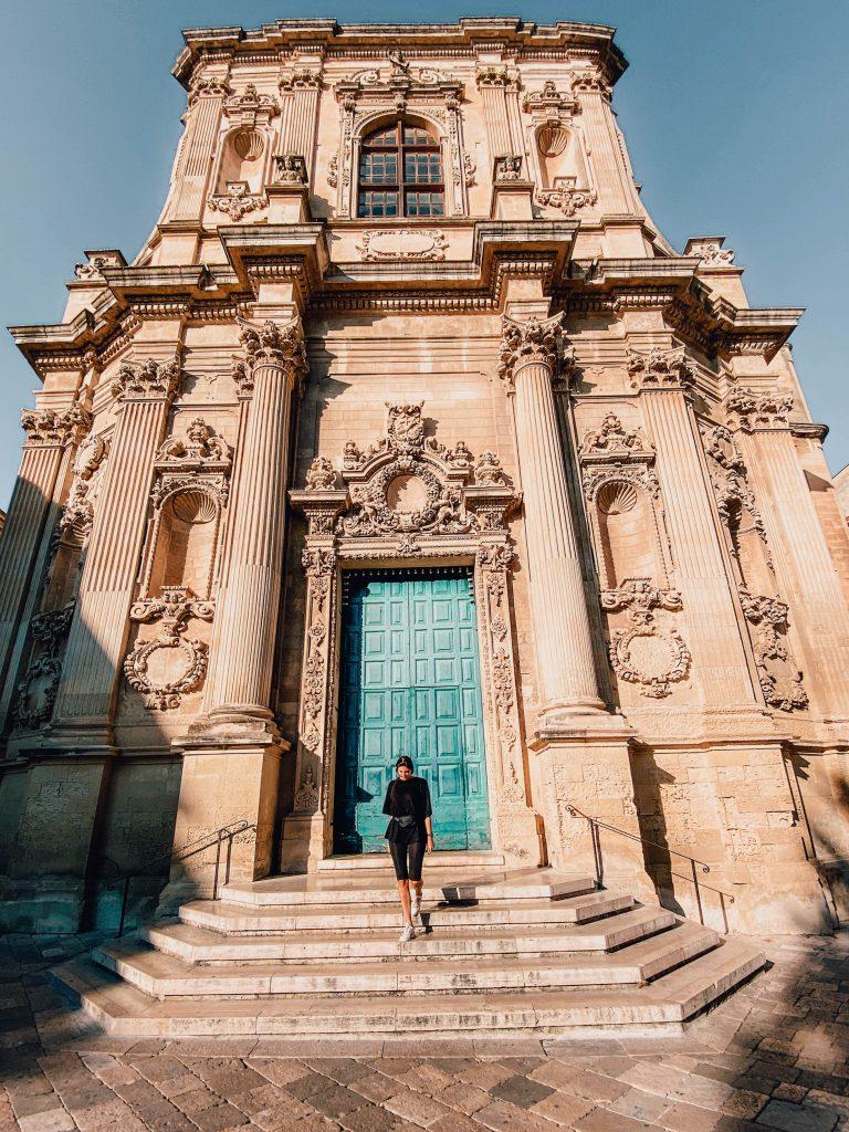 Église Santa Chiara de Lecce, Italy
