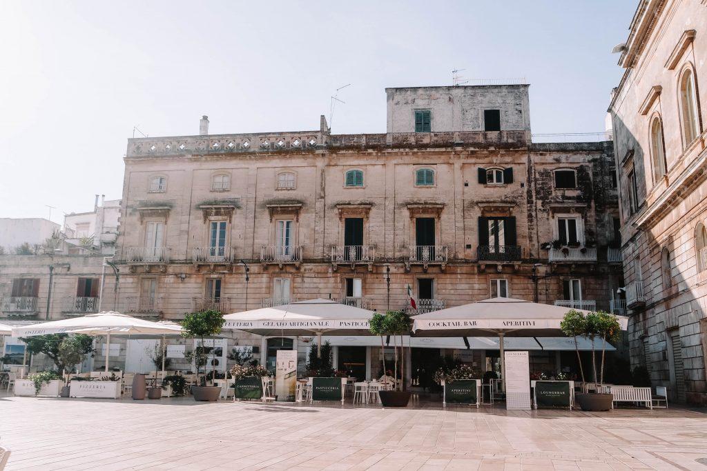Piazza della Liberta Ostuni, Puglia, Italy