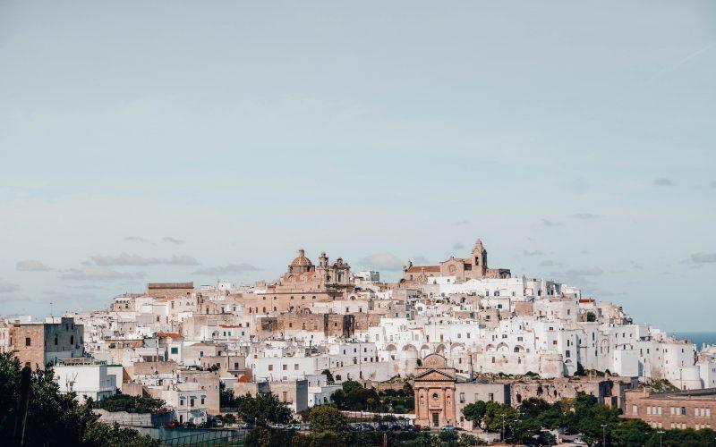 View from Viewpoint Corso Vittorio Emmanuel II, Ostuni, Puglia