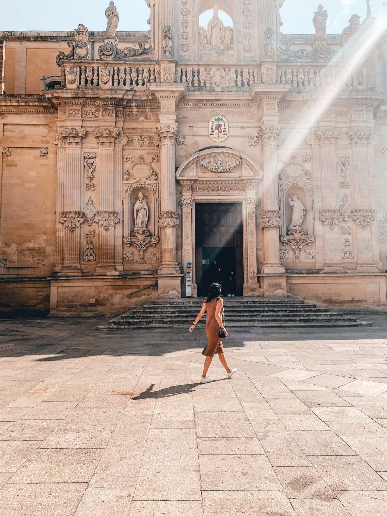 Piazza del Duomo, Cattedrale dell'Assunzione della Virgine in Lecce, Puglia