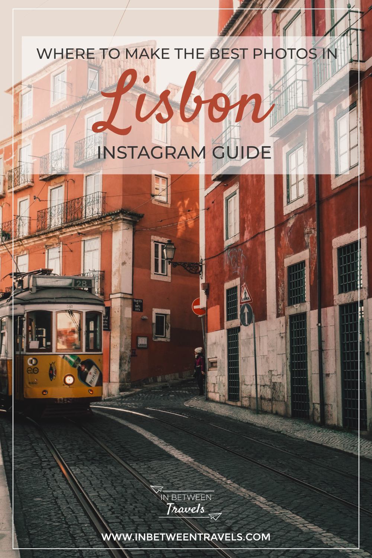 The best Instagram photo spots of Lisbon, Portugal