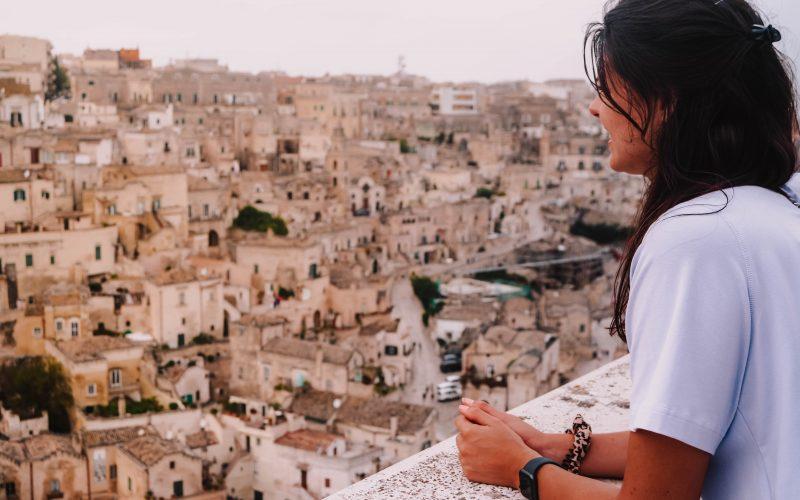 City Guide View over Matera, Puglia, Bascilicata, Italy