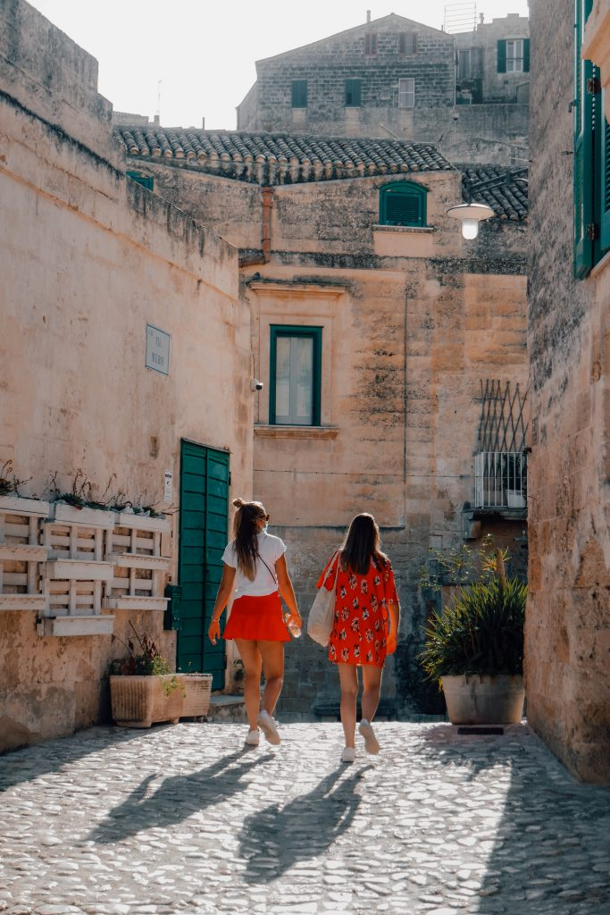 Walking the tiny streets and alleys of Matera, City Guide