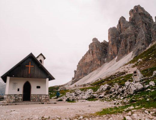 Cappella degli Alpini, Chapel Tre Cime