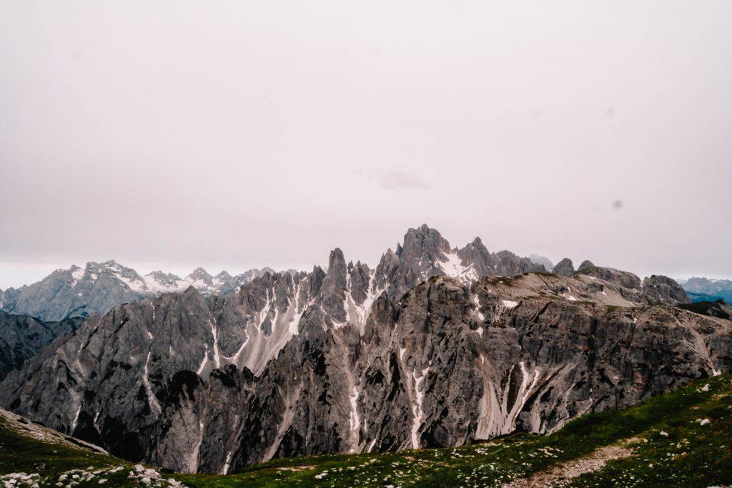 Mountain views around Tre Cime, Drei Zinnen