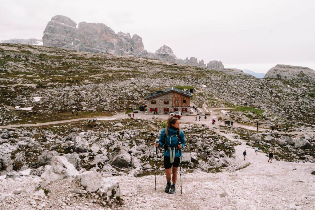 Vies on Rifugio Lavaredo, Tre Cime Day Hike