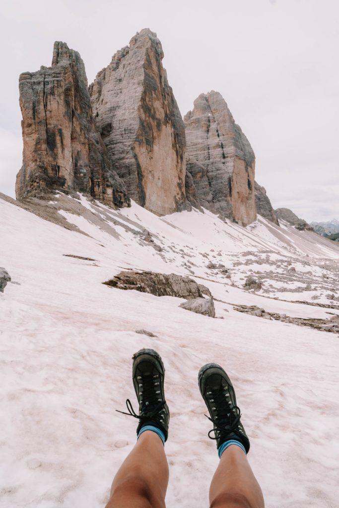 A day hike exploring the Tre Cime / Drei Zinnen