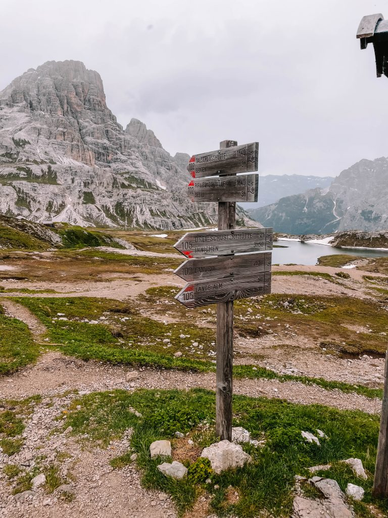 Tre Cime, Drei Zinnen, Peaks, Circuit Loop Day Hike, Dolomites, Italy