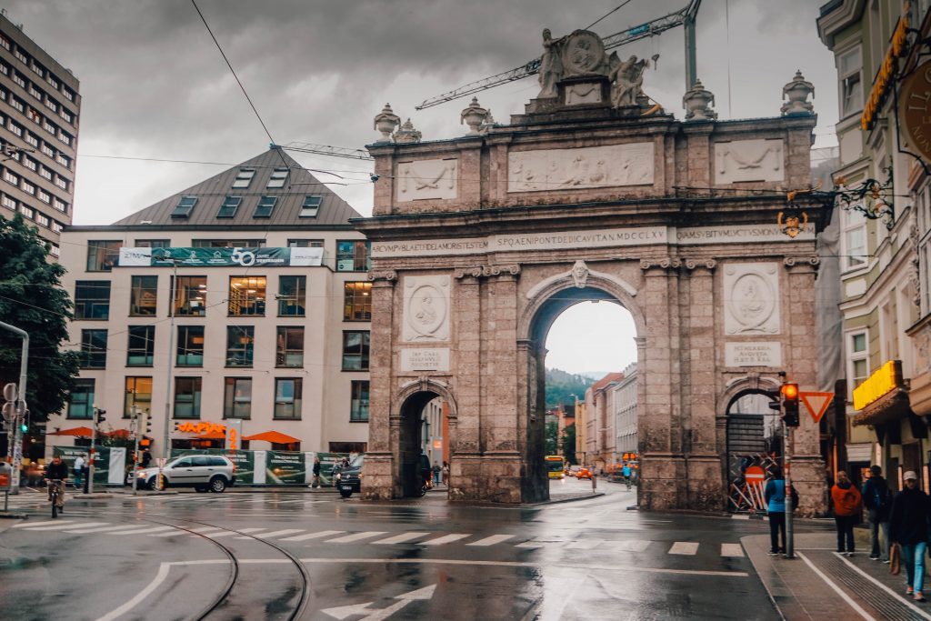 Triumphal Arch, Innsbruck