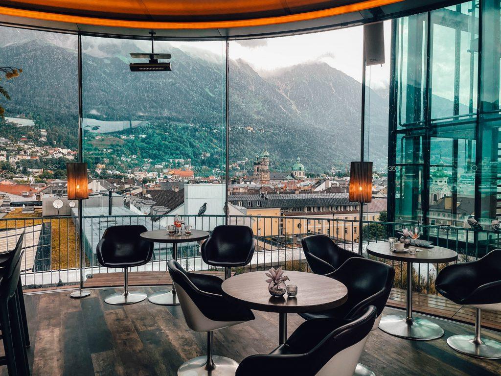 Lichtblick 360 Cafe, Bar Innsbruck