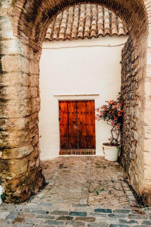 Doors in Vejer de la Frontera, Spain