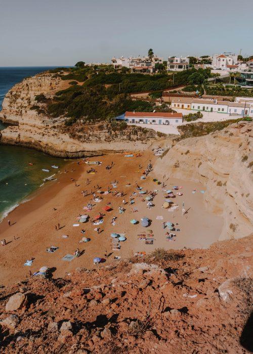 Carvalho Beach, Algarve, Portugal
