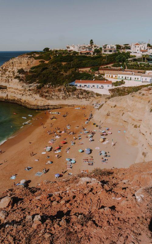 Praia da Benagil, Portugal, Algarve