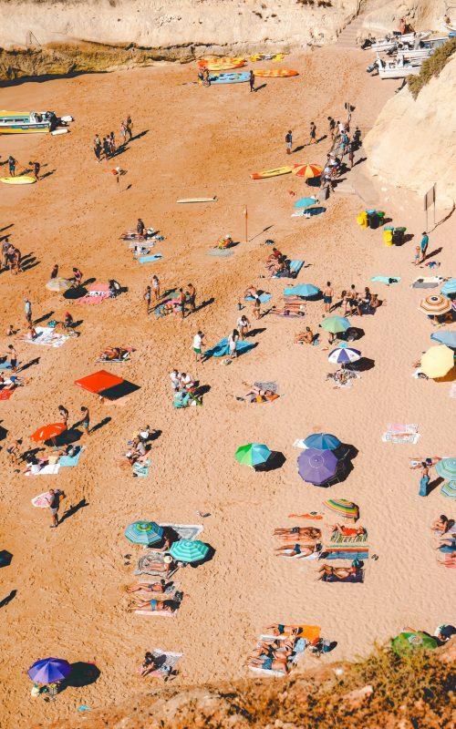 Beach days in the Algarve, Portugal