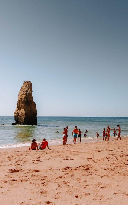 Praia da Carvalho, Portugal, Algarve