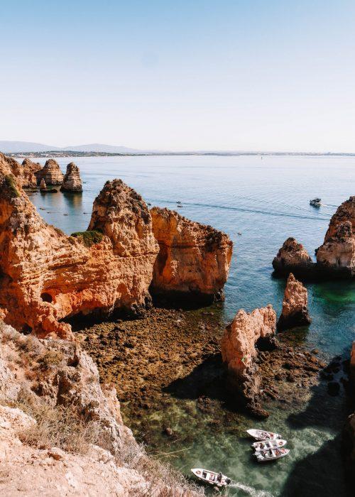 15 Beautiful Photo's: Ponta da Piedade, Algarve, Portugal