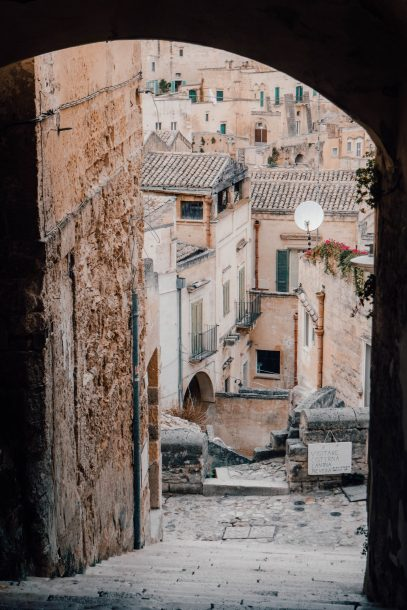 Gradoni San Antonio Views (Via Duomo), Matera, City Guide